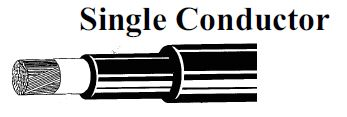 single conductor 600/2000 volts w type ppe cable