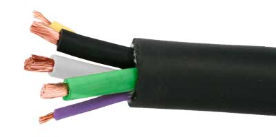 electric vehicle cable eve cable with two conductors